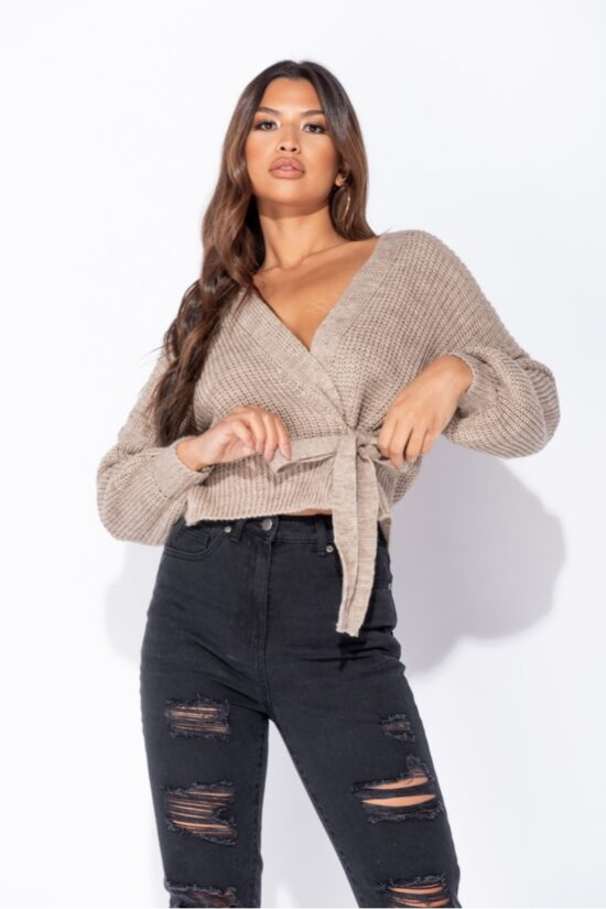 mocha-wrap-front-belted-puff-sleeve-cropped-cardigan-p9345-1033345_image