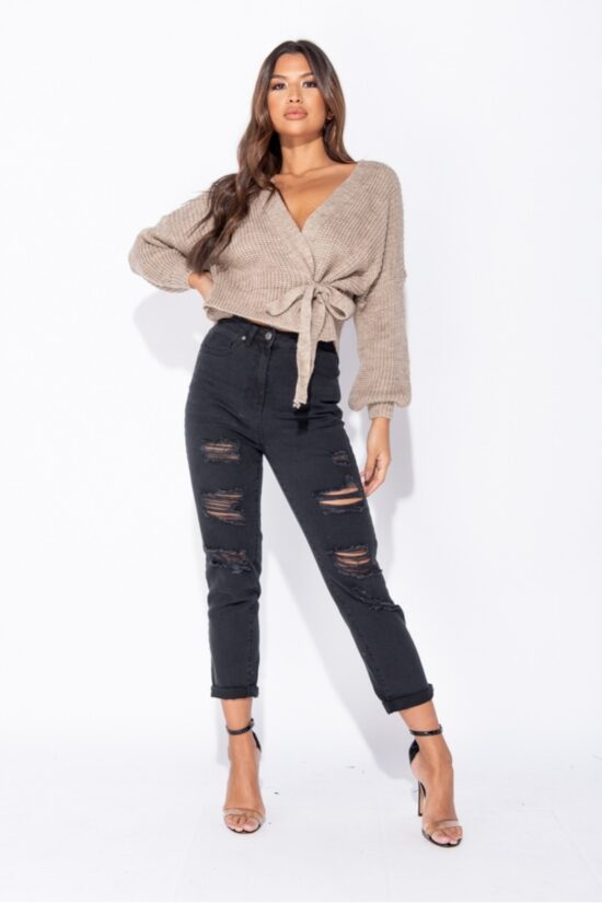 mocha-wrap-front-belted-puff-sleeve-cropped-cardigan-p9345-1033346_image